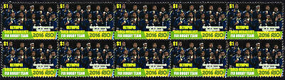 Fiji Rugby 7 Team 2016 Rio Olympics Gold Medal Vignette Stamps