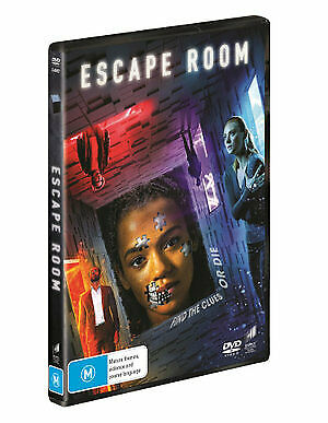 Escape Room (DVD, 2019) (Region 4) New Release