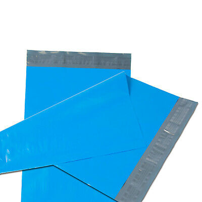 500 12x15.5 Poly Mailers Plastic Envelopes Shipping Mailing Bags 2.5 MIL Blue