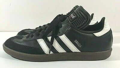bf1fe95a1 Adidas Mens Samba 034563 Classic Black Athletic Lifestyle Casual Shoes Size  9