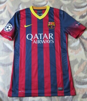 8b08a2a505e Nike FC Barcelona Authentic Home Jersey 2013/14 VICTOR 7 Player Issue  MEDIUM VGC