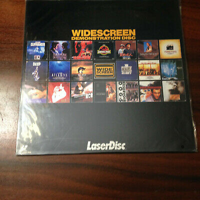 Laserdisc - Widescreen Demonstration Disc Volume 01 LPR-162  Japan Release