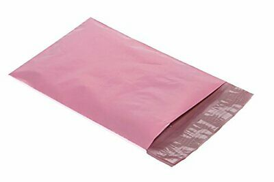 1000 12x15.5 Poly Mailers Plastic Envelopes Shipping Mailing Bags Pastel Pink