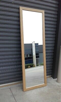 """""""Last One"""" Large Wall Mirror Timber Surround. Ex Esprit."""