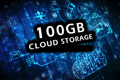 100GB Cloud Storage Private Secure Account Lifetime Package - One time payment