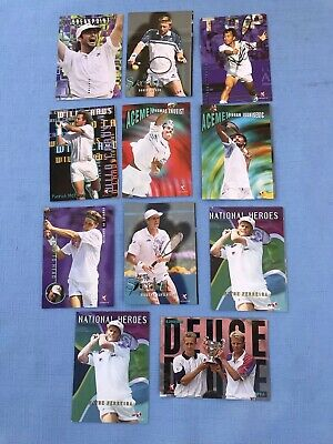Trading Cards ATP Tour Tennis Intrepid 11 Cards