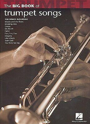 The Big Book Of Trumpet Songs. Trumpet Solo Book Hal Leonard