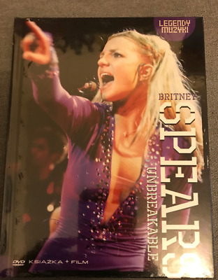 Britney Spears: Unbreakable NEW! DVD + BOOK POLISH EDITION