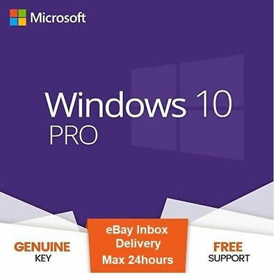 Microsoft Windows 10 Pro | Professional license activation key code 32|64 BIT