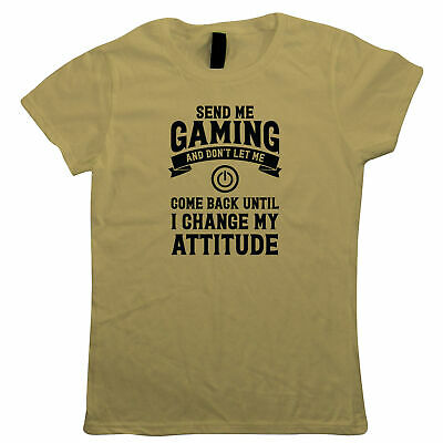 Send Me Gaming Until I Change My Attitude - Power Button Gift Her