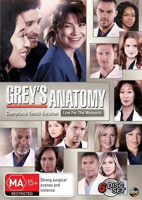Grey's Anatomy : Season 10 DVD : NEW
