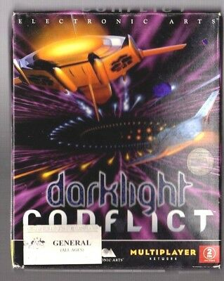 Darklight Conflict. PC Game. 1990's Vintage Retro Big Box. New and Complete.