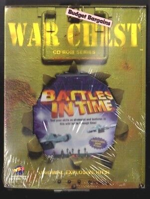 Battles in Time.  PC Game. 1990's Vintage . New and Complete.