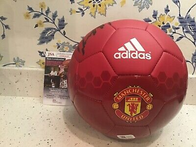 948630526d3 Wayne Rooney Signed Manchester United Soccer Ball England Icon Jsa Coa