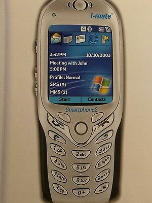 2004 Vintage Collectable Discontined I-MATE Smartphone2 PC Pocket Mobile Phone