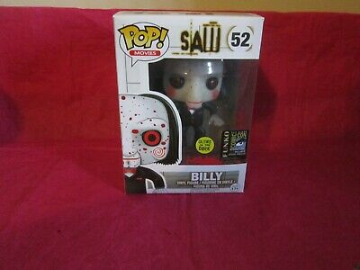 Funko Pop! Saw Billy #52 Glow in the Dark GITD 2014 SDCC Exclusive W/PROTECTOR