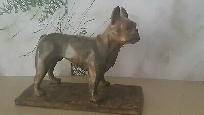 "Superb French Bronze Statue  ""French Bulldog""  ~ Signed P Chenet ~ No Reserve!"