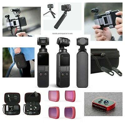 DJI Osmo Pocket 4K Action Camera Gimbal With All You Need Accessories Bundle Kit