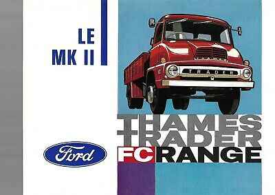 Ford  (Camions Lorry  Lkw ) Thames  Trader Fc  Range  04/1963