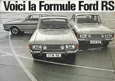 Ford  Formule Rs 1968