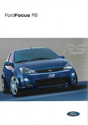 Ford   Focus Rs Mk1      10/2002