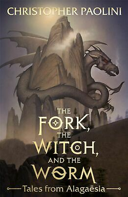 Signed Book - The Fork The Witch and the Worm by Christopher Paolini 1st Edition