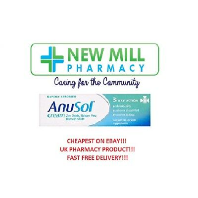 Anusol Haemorrhoid Relief Discomfort Cream 23g Itching Shrink Piles.UK PHARMACY!