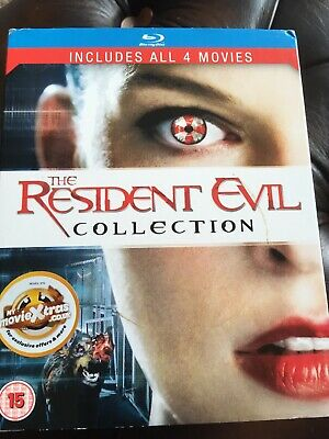 Resident evil complete collection blu ray with collectors