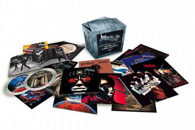 """Judas Priest """"The Complete Albums Collection"""" 19 CD Box Set"""
