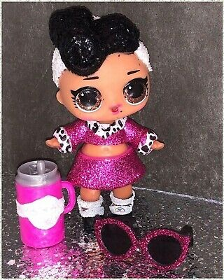 LOL Surprise Bling Series 1 DOLLFACE Doll Face Glam Glitter-Sealed w L.O.L. Ball