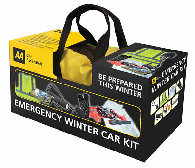 AA Emergency Winter Car Driving Kit - Motoring Kit 7 Piece incl Bag