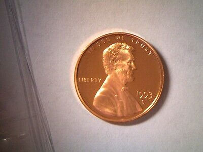 1993 S Proof Lincoln Memorial Cent Penny