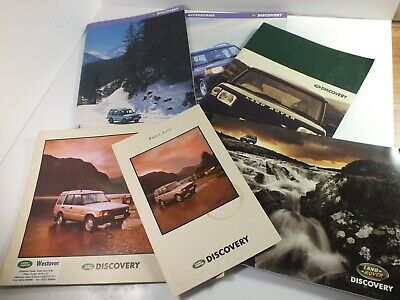1990s Land Rover Discovery Sales Brochures Collection