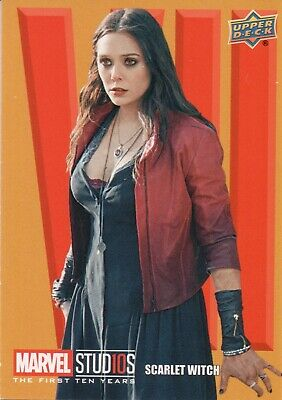 Marvel The First Ten (10) Years, Roman Numerals VII Scarlet Witch Card RN56