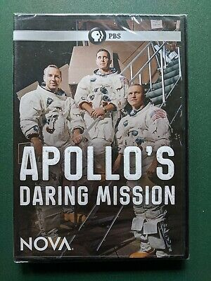 Apollos Daring Mission (DVD, 2019) SEALED, NEW, FREE SHIP, Ohio Seller, NOVA