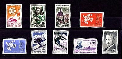 Lot De Timbres N° 1306/1307/1308/1309/1310/1326/1327/1328/1329 Neuf**