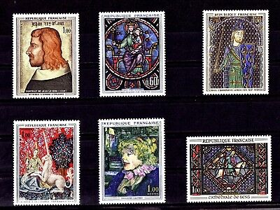 Lot De Timbres N* 1413/1419/1424/1425/1426/1427  Neuf**