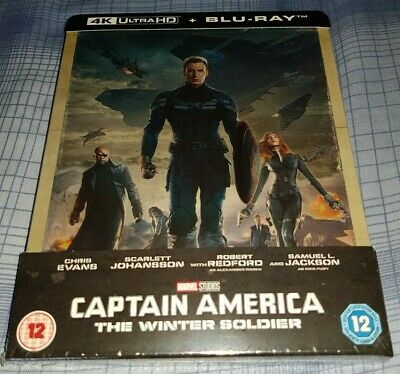 Captain America:The Winter Soldier 4K Limited Edition Steelbook NEW & SEALED!!!!