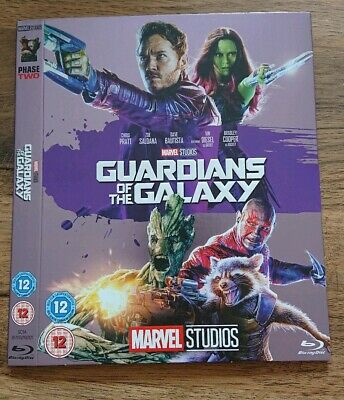 Marvel O-Ring GUARDIANS OF THE GALAXY blu-ray sleeve (no disc/case/movie)