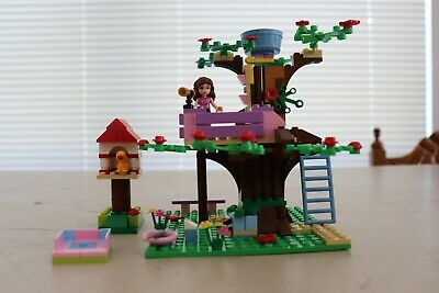 Lego 3065 Olivias Tree House Friends Complete With Manual 7 Pics