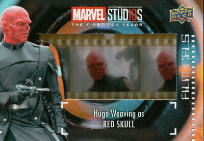 Marvel The First Ten (10) Years, Red Skull Film Cell Card (Short Print) FC-23