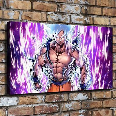 Dragon Ball HD Canvas prints Painting Home Decor Picture Room Wall art 12x22