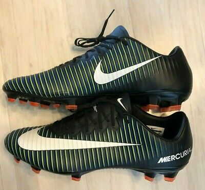 63812a4b2 NEW Nike Mercurial Vapor XI 11 FG Men s Sz 12 Black Soccer Cleats 831958-014