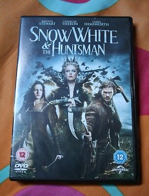 Snow White And The Huntsman DVD 2012 Chris Hemsworth and Charlize Theron.