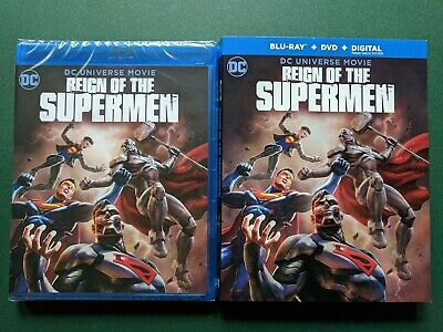 Reign of the Supermen (Blu-ray, DVD, Digital, 2019) SEALED, W/ Slip, Ohio Seller