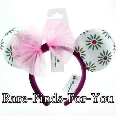 Disney Parks Minnie Mouse Ear Haunted Mansion Tightrope Walker Girl Headband NEW