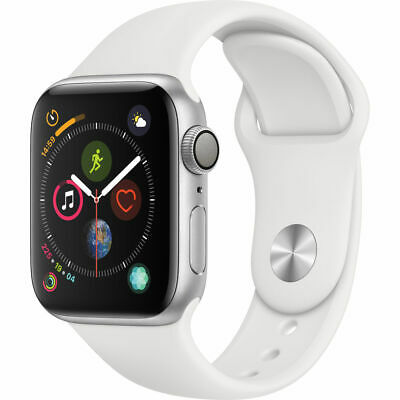 NEW Apple Watch Series 4 40mm Silver Aluminum Case (GPS) *FREE 2-DAY SHIPPING*