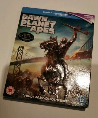 Dawn Of The Planet Of The Apes BLU RAY