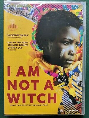 I Am Not A Witch (DVD, 2019) FACTORY SEALED, NEW, FREE SHIPPING, Ohio seller