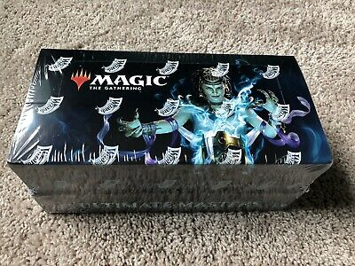 MTG Ultimate Masters Booster Box, Sealed w/Topper
